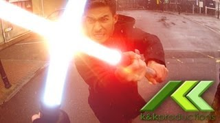 Real Life Jedi! (Insane Office Escape: Star Wars Edition
