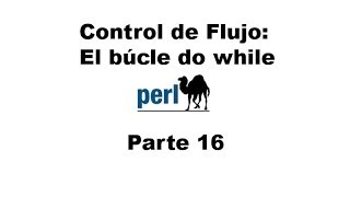 Perl tutorial. Parte 16
