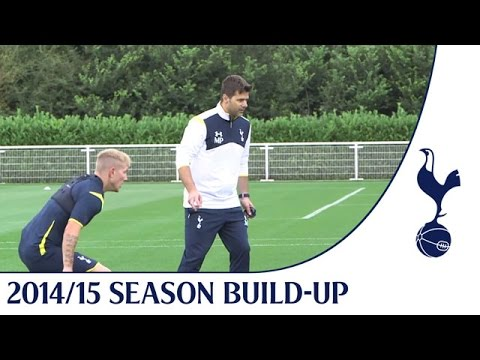 Exclusive! Mauricio's first training session