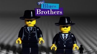 Blues Brothers Shopping Mall Chase Scene in LEGO Animation