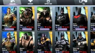 Injustice Gods Among Us ALL Characters Unlocked FREE