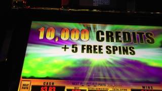 5 Dollar Max Bet Meltdown Overload Slot Machine Bonus Round Free Spins