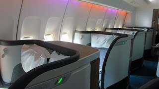 Cathay Pacific 747-400 Hong Kong Haneda First Class