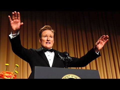 Conan O'Brien at the 2013 White House Correspondents' Dinner - Complete