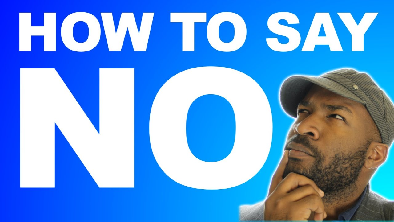 Different ways to say no in korean
