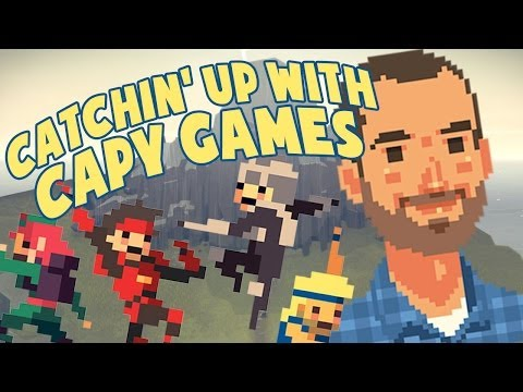 GDC 2014: Super Time Force, Below, and the IGF awards with Nathan Vella from Capy Games