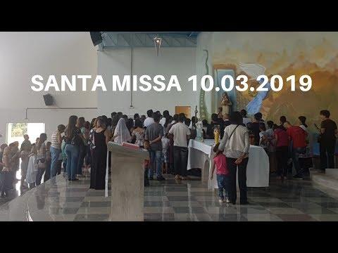 Santa Missa | 10.03.2019 | Padre José Sometti | ANSPAZ