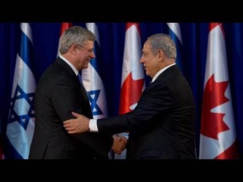 Harper Offends Arab Legislators in Israel
