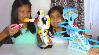 Speed Tech Radio Control Space Soldier Robot and Jolly Penguin Frisk Paradise - Kids' Toys