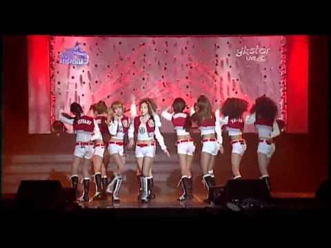 100203 SNSD - Gee+Oh! @ Seoul Music Awards 2010