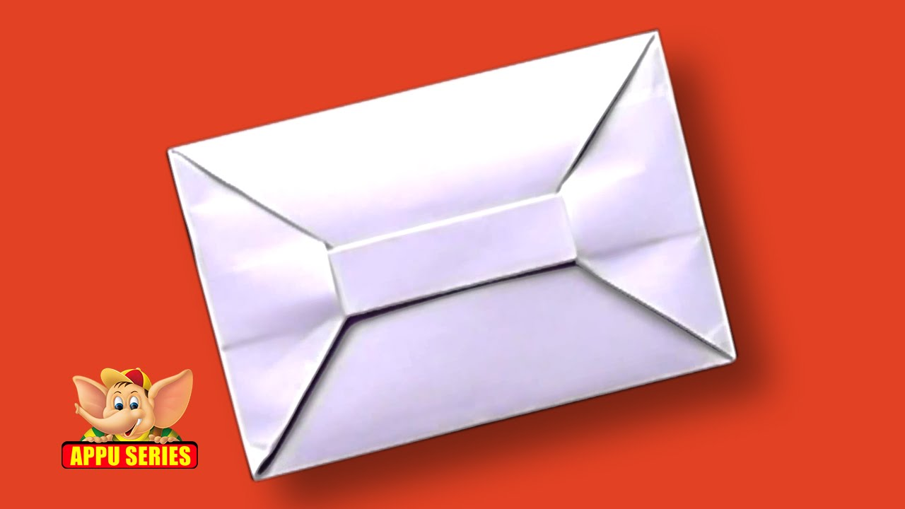 Origami How To Make An Envelope Hd Youtube