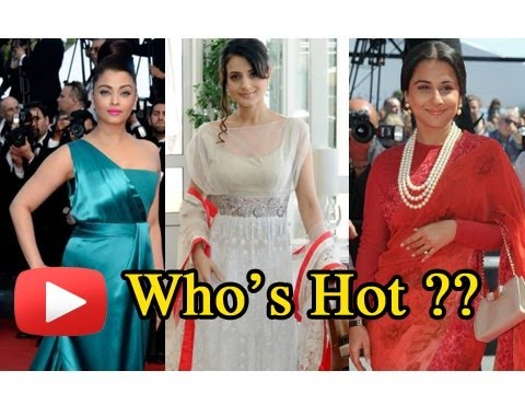 Aishwarya Rai, Vidya Balan Or Ameesha Patel At Cannes 2013 -- Who's Hot ?