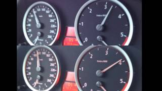 BMW E60 525D Vs. E60 525D Chip Racechip 0-100Km/h Einbau
