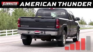 Flowmaster American Thunder Cat-back Exhaust System 1999