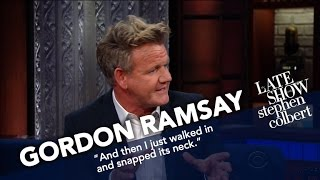 Gordon Ramsay Critiques Stephen's PB&J