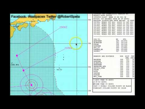 Typhoon Francisco expected to become a Cat 5