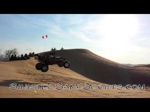 Sinister Sand Sports 2014 SXS short wheelie and jump clip