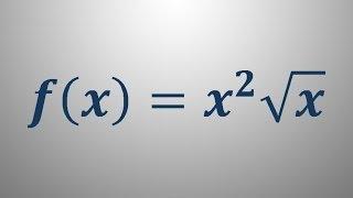 Odvod funkcije – primer 2