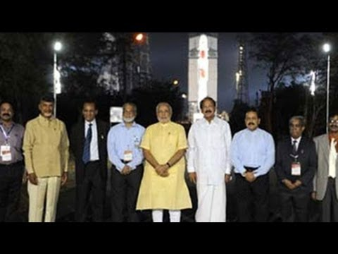 PM Modi in Sriharikota, to witness PSLV launch today
