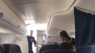 Fighter jets escort Delta plane after onboard disturbance
