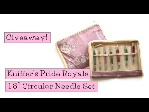 Giveaway!  Knitter's Pride Royale 16