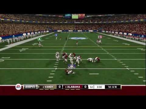 NCAA Football 2014: SEC Championship - Alabama vs Vanderbilt 2013