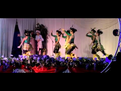 Fresno Hmong International New Year 2014 Dance Competition Round 3 - NKAUJ HMOOB HLI XIAB
