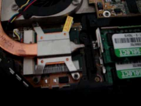 How to Upgrade ASUS Laptop GRAPHIC CARD from Nvidia 8400M G to 9650M GT 02 A