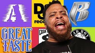 The Best Rap Label | Great Taste