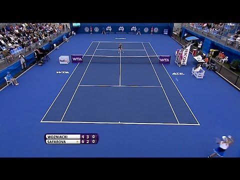 Caroline Wozniacki 2014 Apia International Sydney Hot Shot