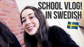 » SWEDISH VLOG | A day in school (english subtitles) «