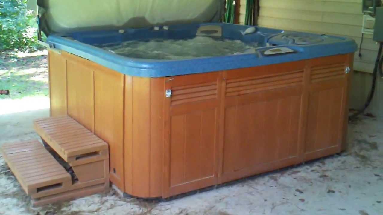 sundance altamar hot tub - YouTube