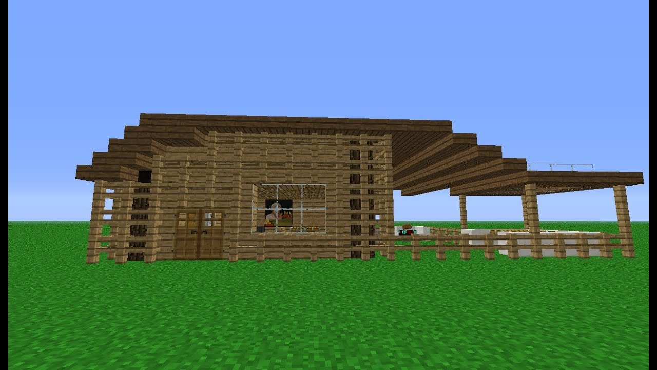 Minecraft Small Wooden House Designs Viewing Gallery