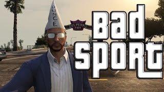 "GTA 5 Online Bad Sport How I Got My Bad Sport Title ""GTA"