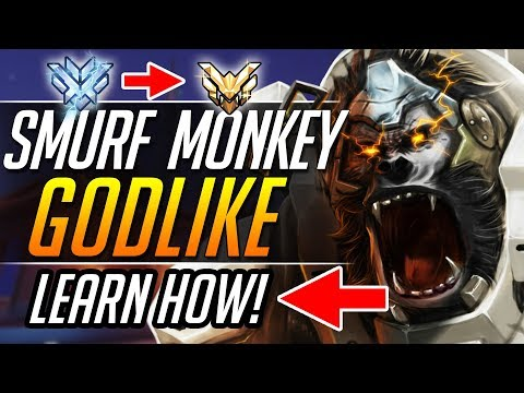 SMURF MONKEY - Pro Winston Gameplay Tips Guide | Overwatch Guide