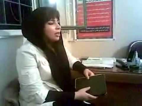 Dokhtar khanande Irani دختر خواننده با استعداد ایرانی