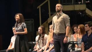 Les Misérables Manila Cast Rehearsal