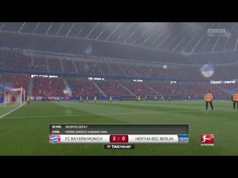 #456 FIFA 17 PS4 Career mode S7E49 // BAYERN MUNCHEN Vs HERTHA BERLIN - Bundesliga - Matchday 31