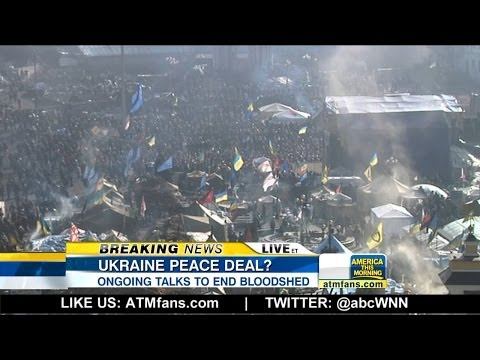 Ukraine Negotiating Deal to End Crisis