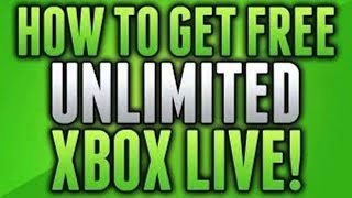 *FREE* UNLIMITED 1 Month Xbox Live Gold Trials [May 2014