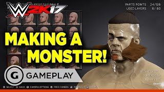 Making a Monster in WWE 2K17
