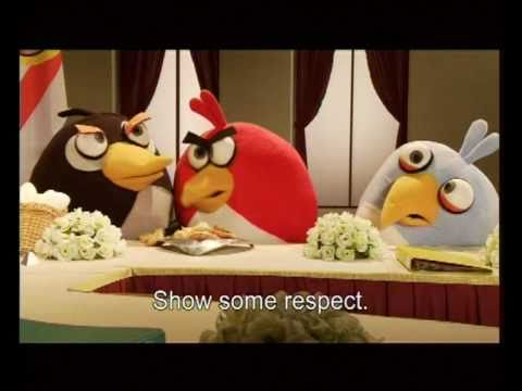 Angry Birds Peace Treaty, A historic moment for birds and pigs everywhere. Taken from the Israeli comedy show 'Eretz Nehederet' ( A Wonderful Country). For more information: http://s....
