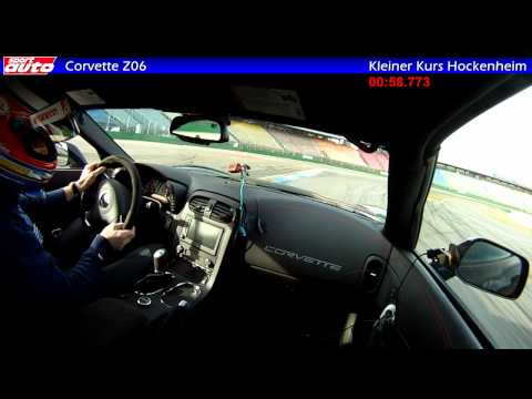 Corvette ZR1 Z06 GS: 0-331-0 km/h, Lap Time Hockenheim, High Speed Run, Test sport auto