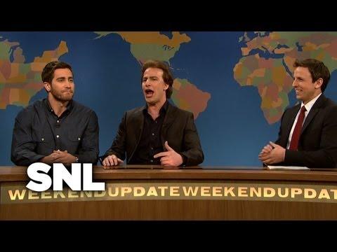 Weekend Update: Jake Gyllenhaal and Nicolas Cage - Saturday Night Live