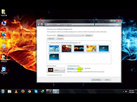 How To Make Your Windows 7 Themes In Urdu By Syed Talha Zameer