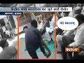 Shoe hurled at Union Minister Mansukh Mandaviya in Gujarats Bhavnagar