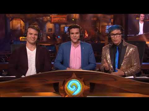 HSI 2017 Hearthstone Inn vitational Preshow Day 2 BlizzCon 2017