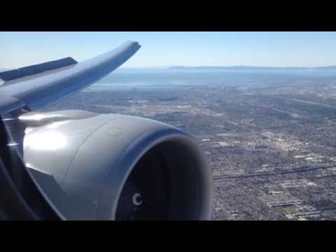 Air New Zealand Boeing 777-300ER Landing in Los Angeles