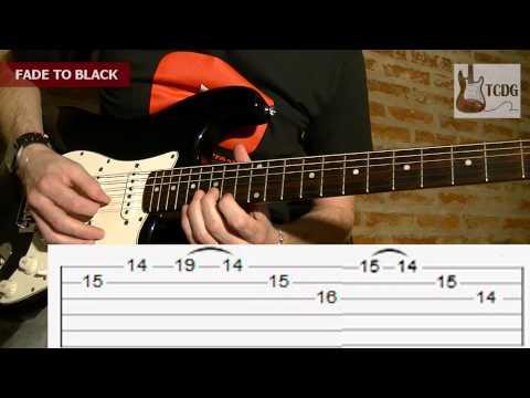 Hình ảnh trong video How to play Fade to Black (Metallica): Guitar