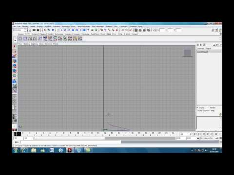 Autodesk Maya Basics Tutorial : Modelling a simple table